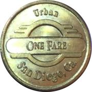 1 Fare - San Diego Transit (San Diego, CA) – reverse