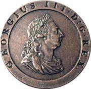 Replica - 1797 Britannia Penny – obverse