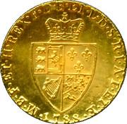 Replica - King George III Spade Guinea 1788 – reverse