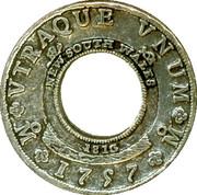 Replica - Earliest 1757 Holley Dollar – obverse