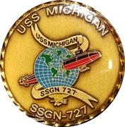 Token - SSGN Michigan – obverse