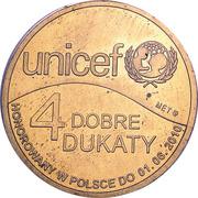 4 Dobre Dukaty (UNICEF) – obverse