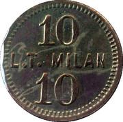 10 Ingle System  (L.T. Milan) – reverse