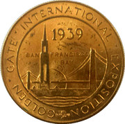 1939 Golden Gate International Exposition – obverse