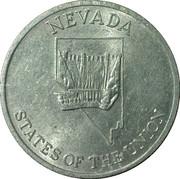 Token - Shell's States of the Union Coin Game, Version 2 (Nevada / Washington) – obverse