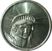 Statue of Liberty – obverse