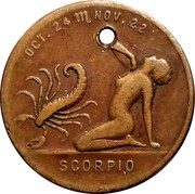 Token - Your Lucky Numbers (Scorpio) – obverse