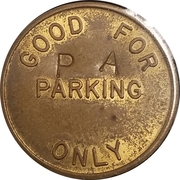 Parking Token - Automatic Parking Devices Inc. (Farmington, Mich.) – reverse