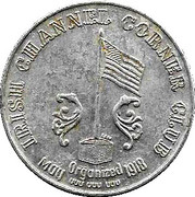Mardi Gras Token - Irish Channel Corner Club (Jefferson Parish, Louisiana) – reverse