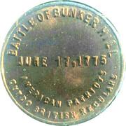 Battle of Bunker Hill – reverse