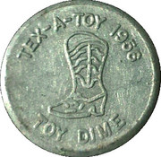 Toy Dime - Tex-A-Toy – obverse