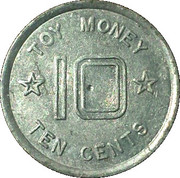 Toy Dime - Tex-A-Toy – reverse