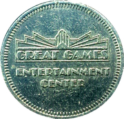 Token - Great Games Entertainment Center – obverse