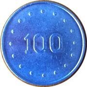 100 Escudos - Casino da Póvoa – reverse
