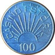 100 Escudos - Casino Estoril – reverse