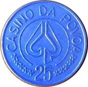 25 Escudos - Casino da Póvoa – reverse