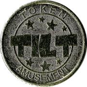 Token - Tilt Amusement – reverse