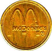 Token - Palace Park (McDonald's; Irvine, California) – obverse