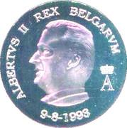 Medal - Albert II – obverse