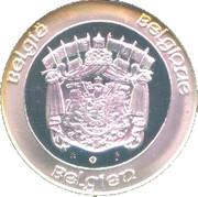Medal - Albert II – reverse
