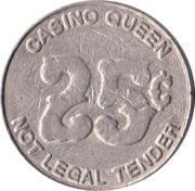 25 Cent Gaming Token - Casino Queen – obverse