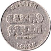 25 Cent Gaming Token - Casino Queen – reverse