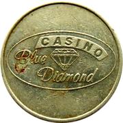 Game Token - Casino Blue Diamond – obverse