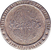 1 Dollar Gaming Token - Harrah's Lake Tahoe – obverse