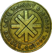 1 Fare - Lane Transit District (Eugene, OR) – obverse