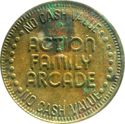 25 Cents - Action Family Arcade – obverse