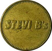 Token - Stevi B's – reverse