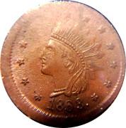 1 Cent (Civil War Token) – obverse