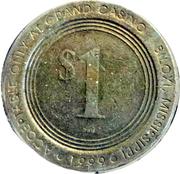 1 Dollar Gaming Token - Grand Island (Biloxi, Mississippi) – obverse