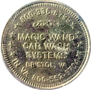 Carwash Token - Magic Wand – obverse