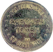 Carwash Token - Magic Wand – reverse