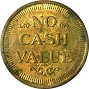 Carwash Token (No Cash Value; RWM; 25 mm) – reverse