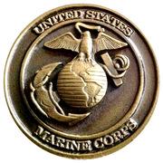Eighth Marine Regiment Challenge Coin – obverse