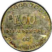 Pilgrim Dollar – reverse