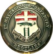 1st Battalion 6th Infantry – obverse
