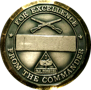 1st Battalion 6th Infantry – reverse