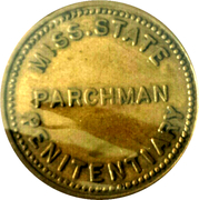5 Cents - Parchman Penitentiary – obverse