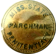 50 Cents - Parchman Penitentiary – obverse