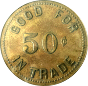 50 Cents - Parchman Penitentiary – reverse