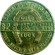 2 Dollars - Brackin's – reverse