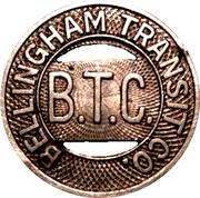 1 Fare - Bellingham Transit Co. – obverse