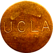 Parking Token - UCLA (Los Angeles, California) – obverse