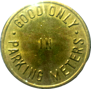 Parking Token - Greater Downtown Muscatine – reverse