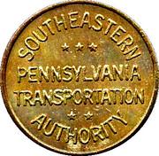 1 Fare - Southeastern Pennsylvania Transportation Authority – obverse