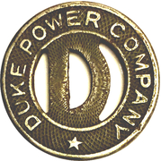 1 Fare - Duke Power Company (Charlotte, NC) – obverse