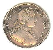 Louis XV - Trésor royal 1726 – obverse